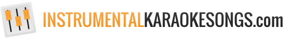 Instrumental karaoke songs logo